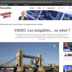 A Londres, une autre vision des inégalités