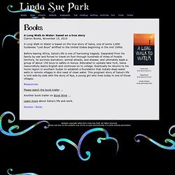 Linda Sue Park Website