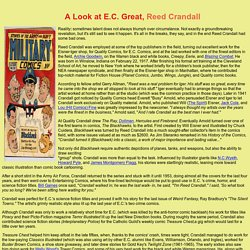A Look at E.C. Great Reed Crandall