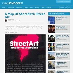 A Map Of Shoreditch Street Art