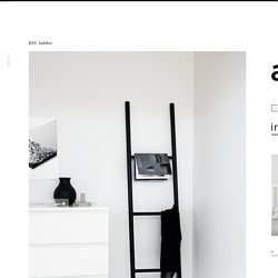 DIY: ladder
