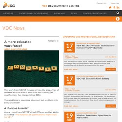 A more educated workforce? - VDC