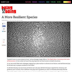 A More Resilient Species