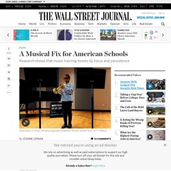 A Musical Fix for American Schools