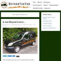 A new Beyond is born… – Beyond The Van