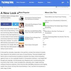 A New Look at Visual Thinking