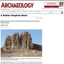 A Nubian Kingdom Rises