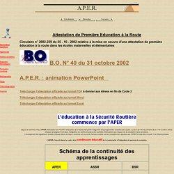 A.P.E.R.