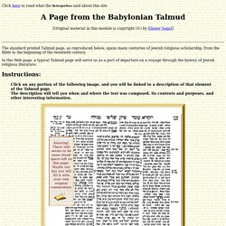 A Page of Talmud