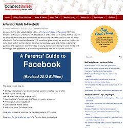 A Parents' Guide to Facebook | Safety Advice Articles