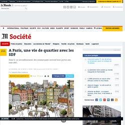 A Paris, une vie de quartier avec les SDF