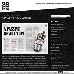 A Passive Revolution - 28 Days