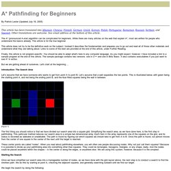 A* Pathfinding for Beginners