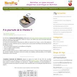 NUTRIFIZZ 10/07/12 A la poursuite de la Vitamine D