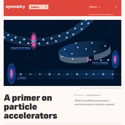 A primer on particle accelerators