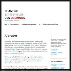 A propos – Chambre des Communs