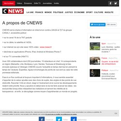 A propos de CNEWS – CNews