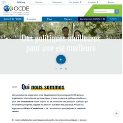 A propos de l'OCDE