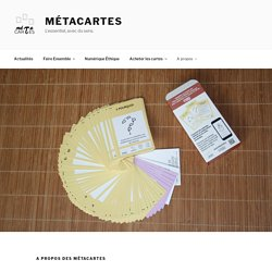 A propos des métacartes – Métacartes