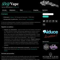 A propos » DiY Vape