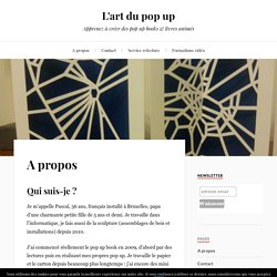 L'art du pop up