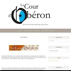 A propos – La Cour d'Obéron