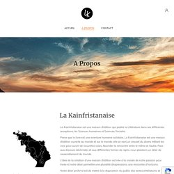 A propos – La Kainfristanaise