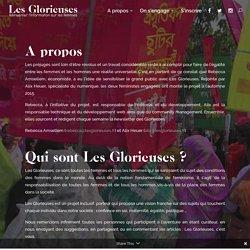 A propos - Les Glorieuses