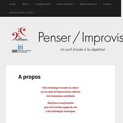 Penser / Improviser