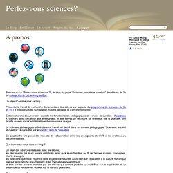 A propos - Perlez-vous sciences?