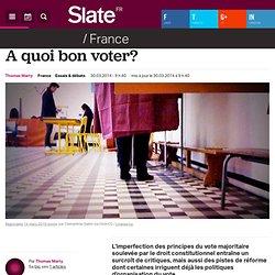A quoi bon voter?
