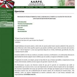 A.A.R.P.E - Ejercicios