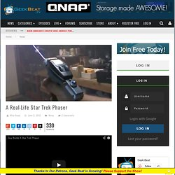 A Real-Life Star Trek Phaser