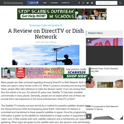 A Review on DirectTV or Dish Network