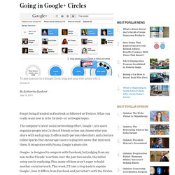 A Review of Google+