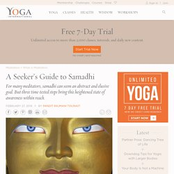 A Seeker's Guide to Samadhi