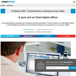 A quoi sert un Chief digital officer