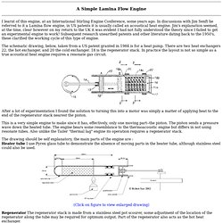 A Simple Lamina Flow Engine