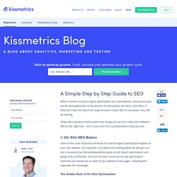A Simple Step by Step Guide to SEO