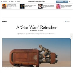 A 'Star Wars' Refresher
