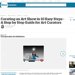 A Step by Step Guide for Curating an Art Show