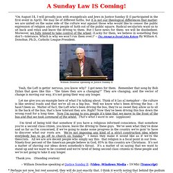 A Sunday Law IS Coming!