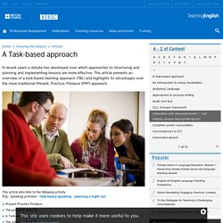 A Task-based approach