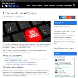 A Technical Look At Dyreza