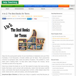 A to Z: The Best Books for Teens