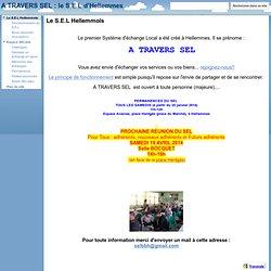 A TRAVERS SEL : le S.E.L d'Hellemmes