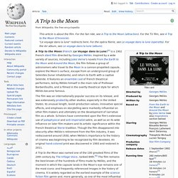 A Trip to the Moon - Background - Wikipedia
