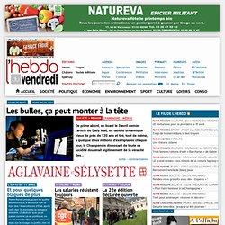 L'hebdo du vendredi, journal gratuit d'information sur Reims, Chalons, Epernay