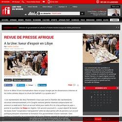 RFI la revue de presse Afrique