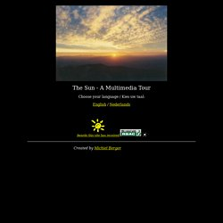 A Virtual Tour of the Sun